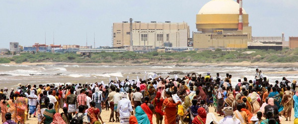 Protest against Indian nuclear power plant
